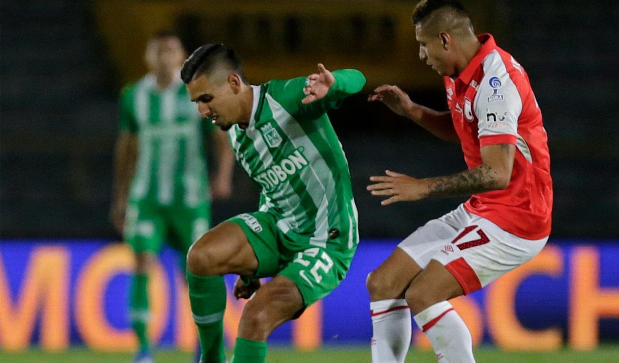 Santa Fe vs Atlético Nacional, Liga Águila