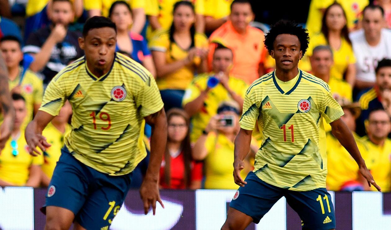 Selección Colombia, fecha FIFA