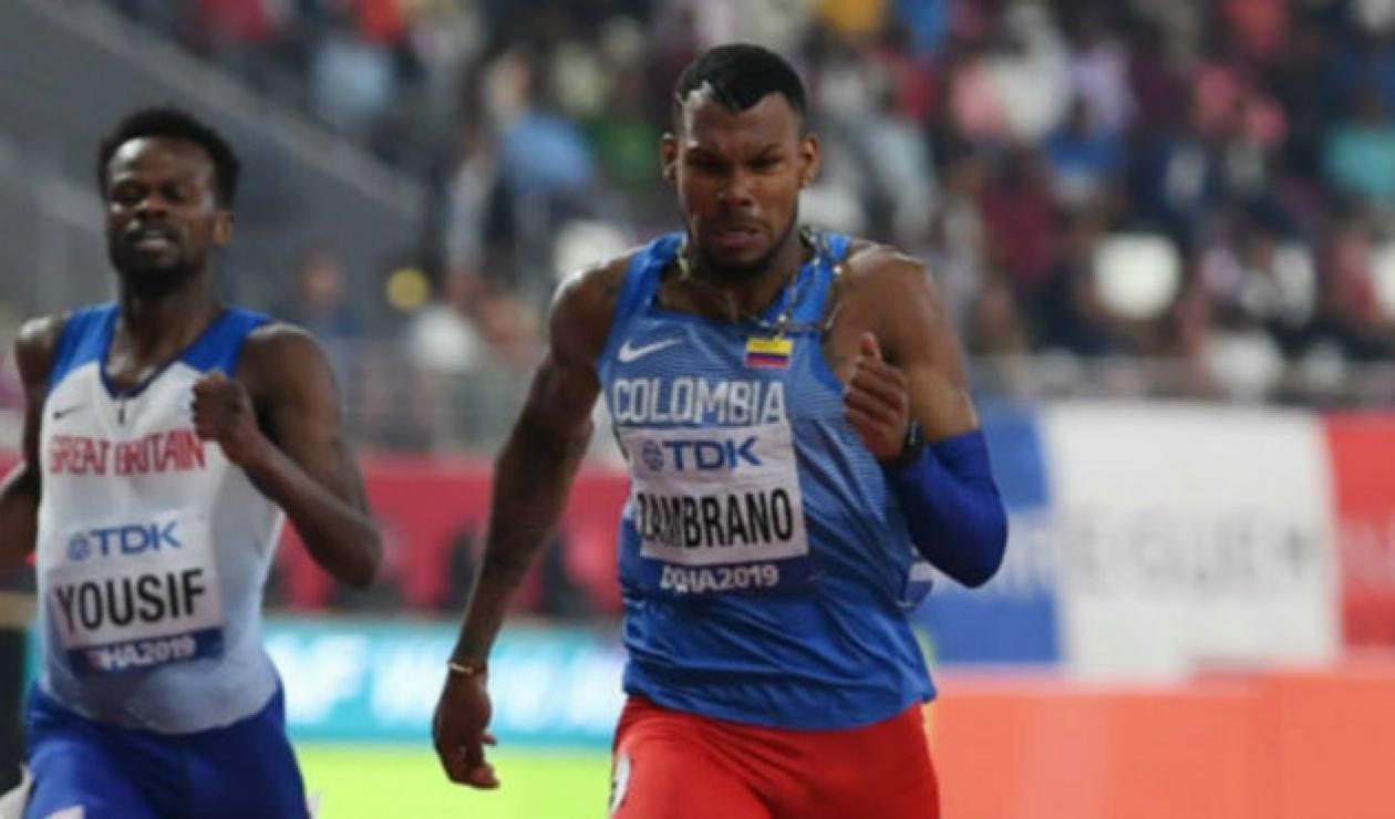Anthony Zambrano medalla de plata en Mundial de Atletismo