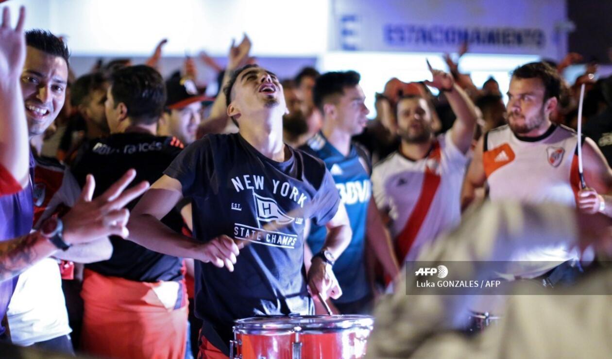 Hinchas de River Plate - final de Copa Libertadores