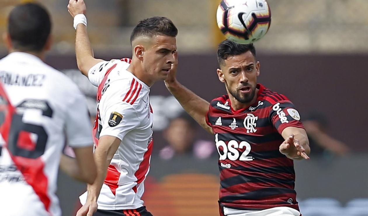 Rafael Santos Borré, Copa Libertadores, Flamengo vs River