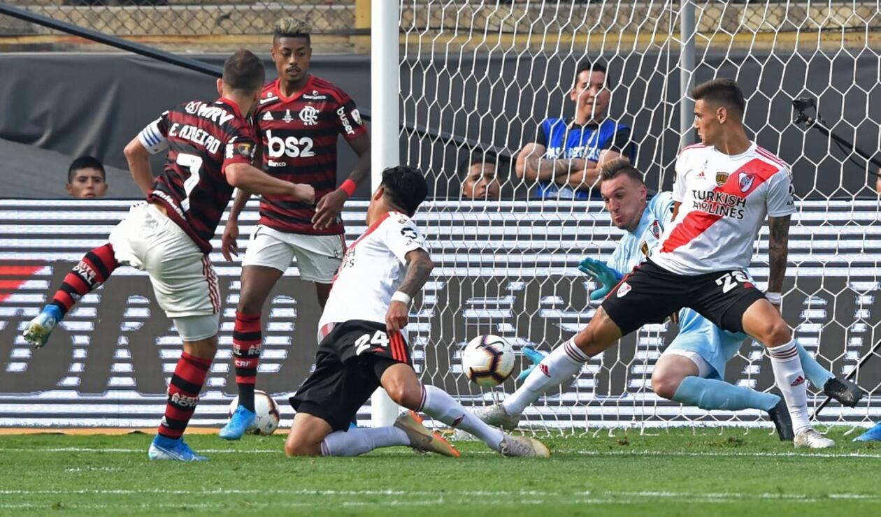 Flamengo vs River, Franco Armani