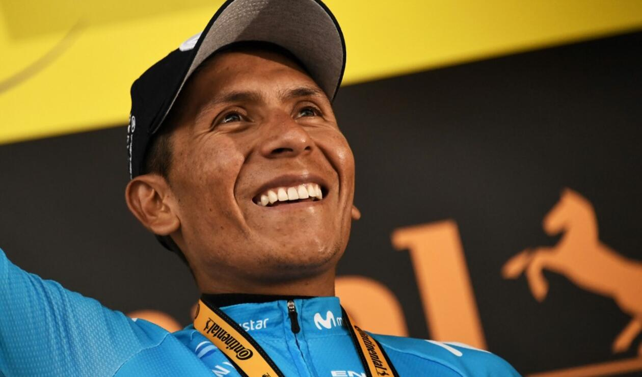 Nairo Quintana - ciclista colombiano