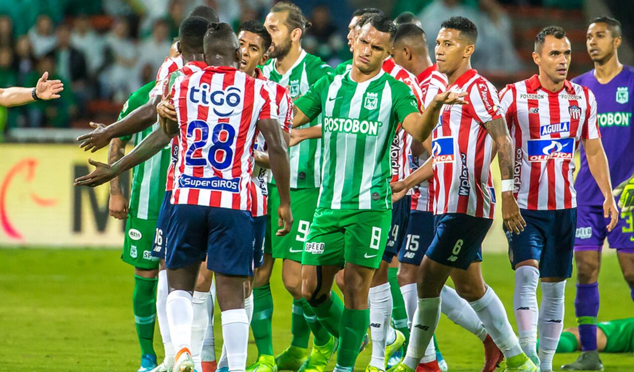 Liga Águila, Nacional vs Junior