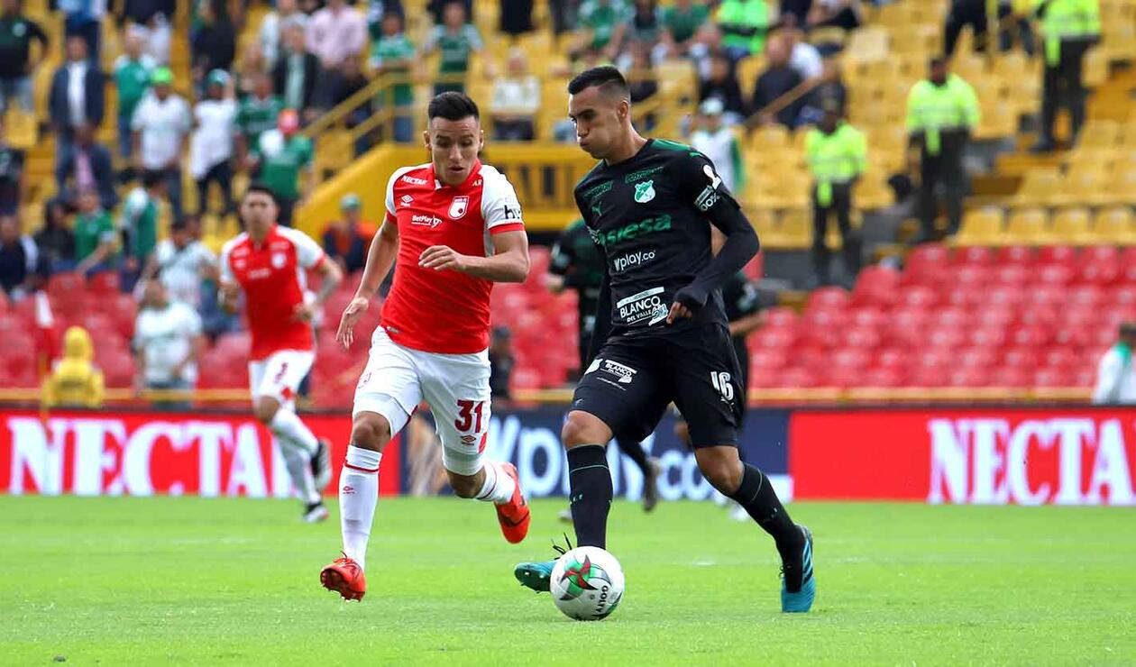 Santa Fe vs Deportivo Cali, Liga Águila