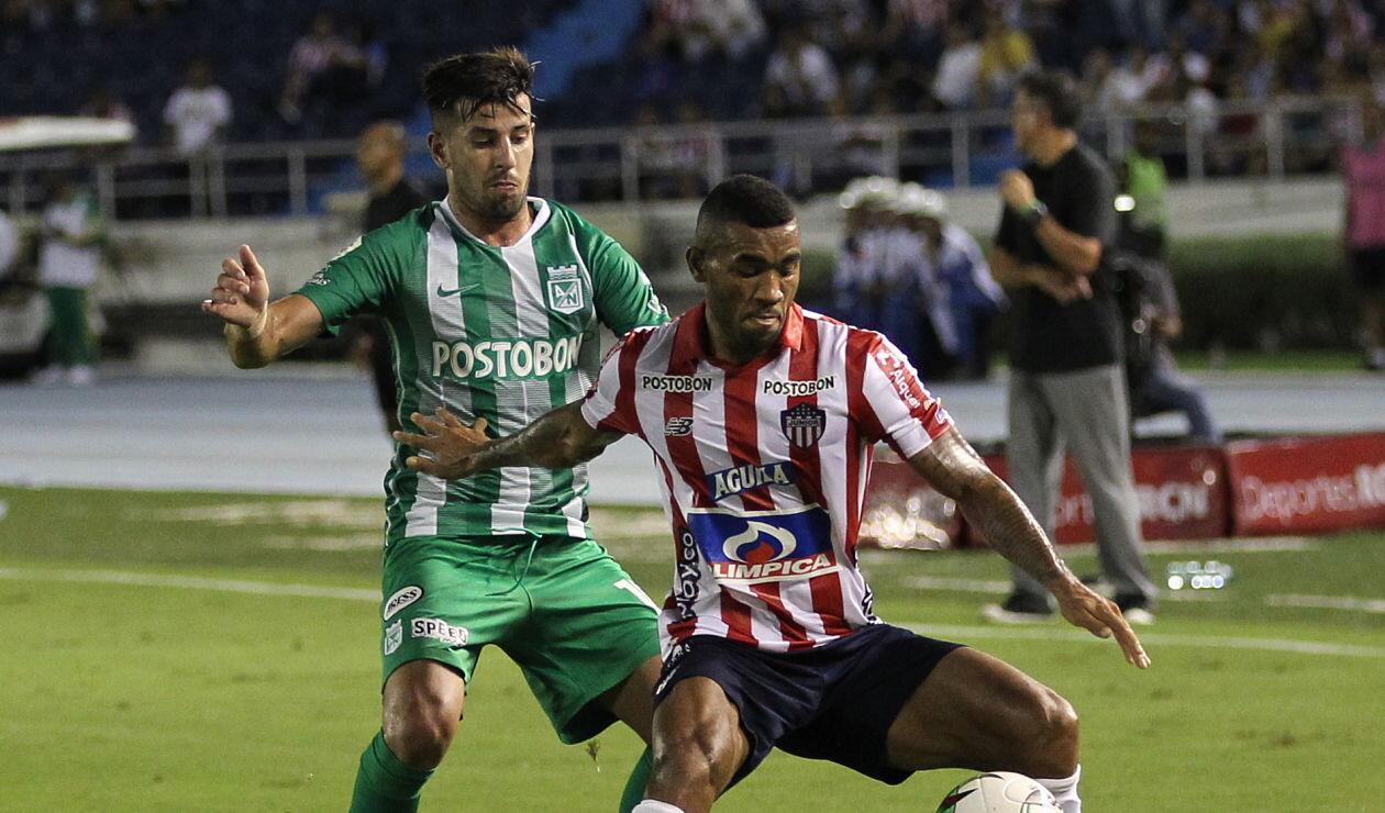Junior, vs Nacional, Liga Águila, Pablo Cepepllini.