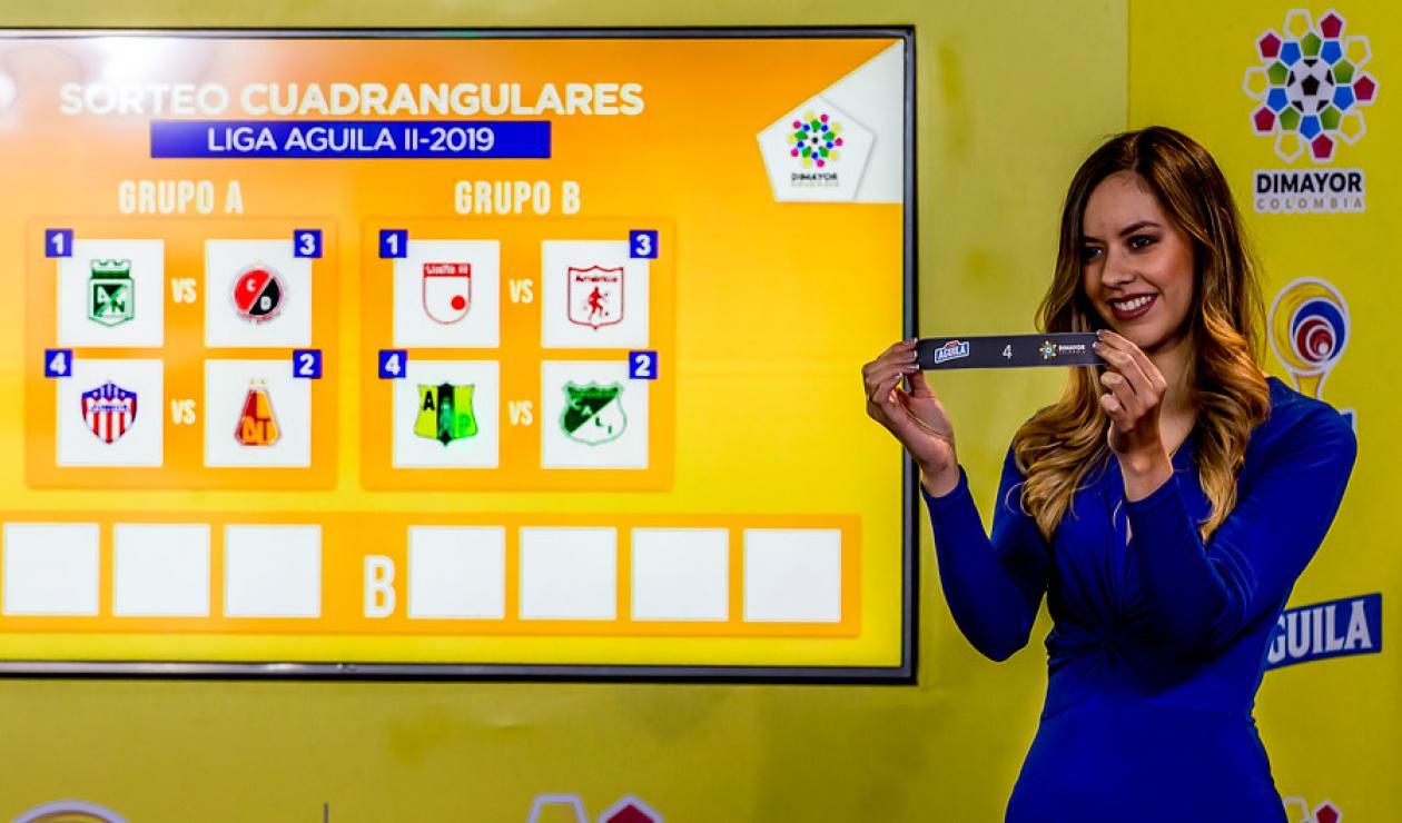 Sorteo Liga Águila 2019-2