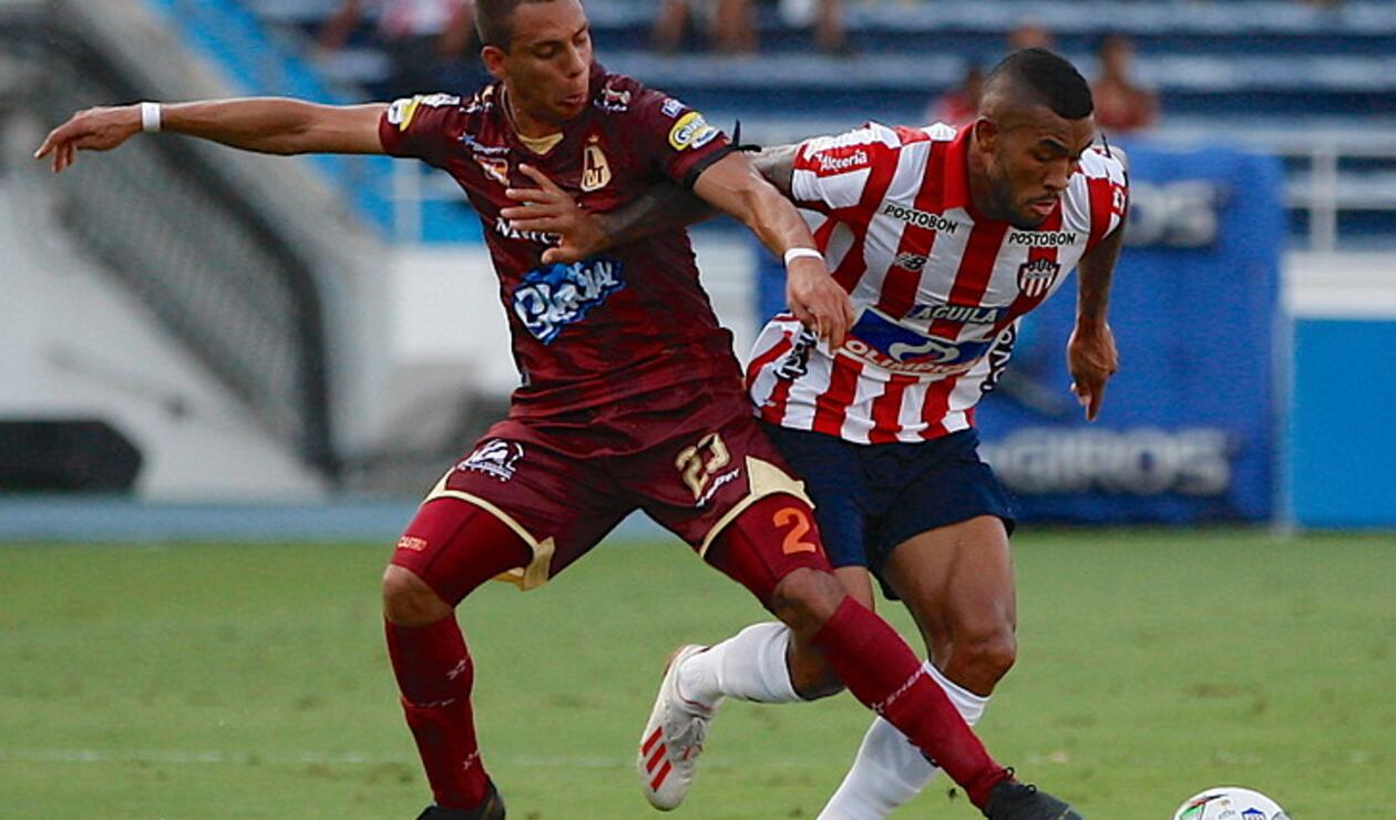 Junior vs Tolima, Liga Águila