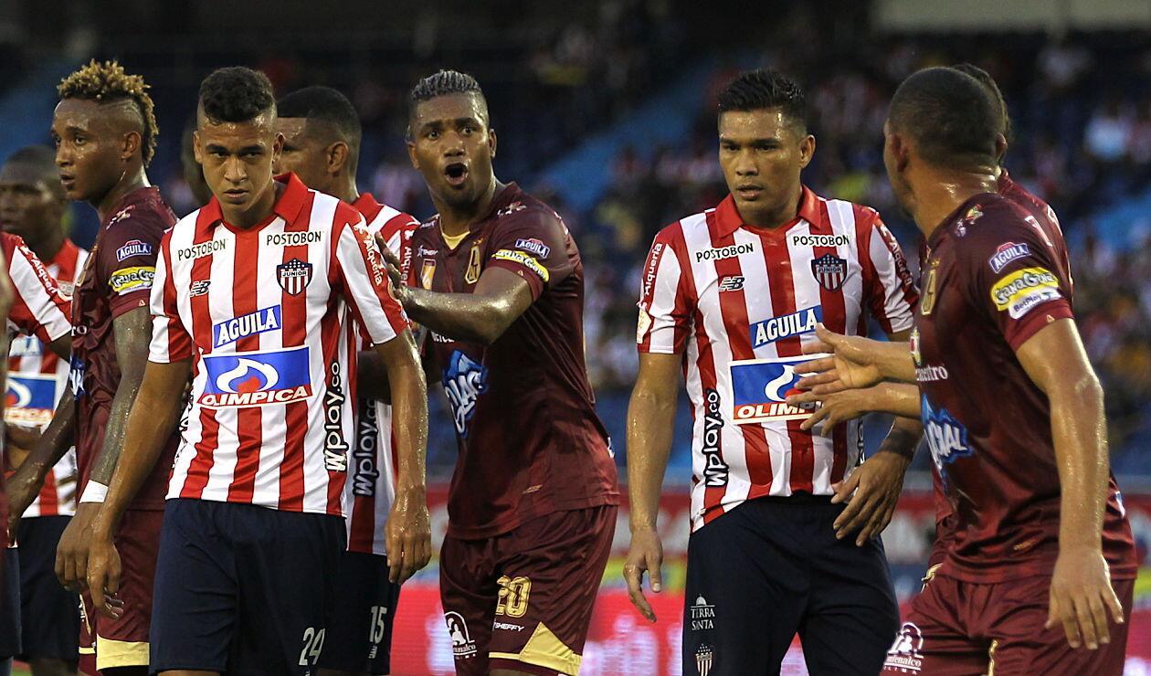 Junior vs Deportes Tolima, liga águila