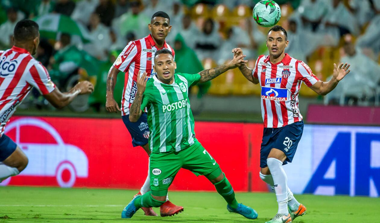 Nacional vs Junior, Liga Águila