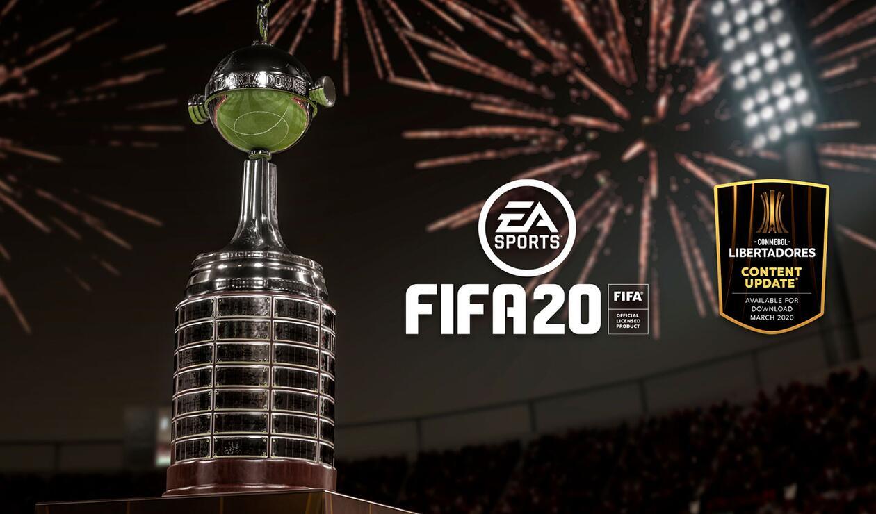 Actualización de FIFA 20 con la Conmebol