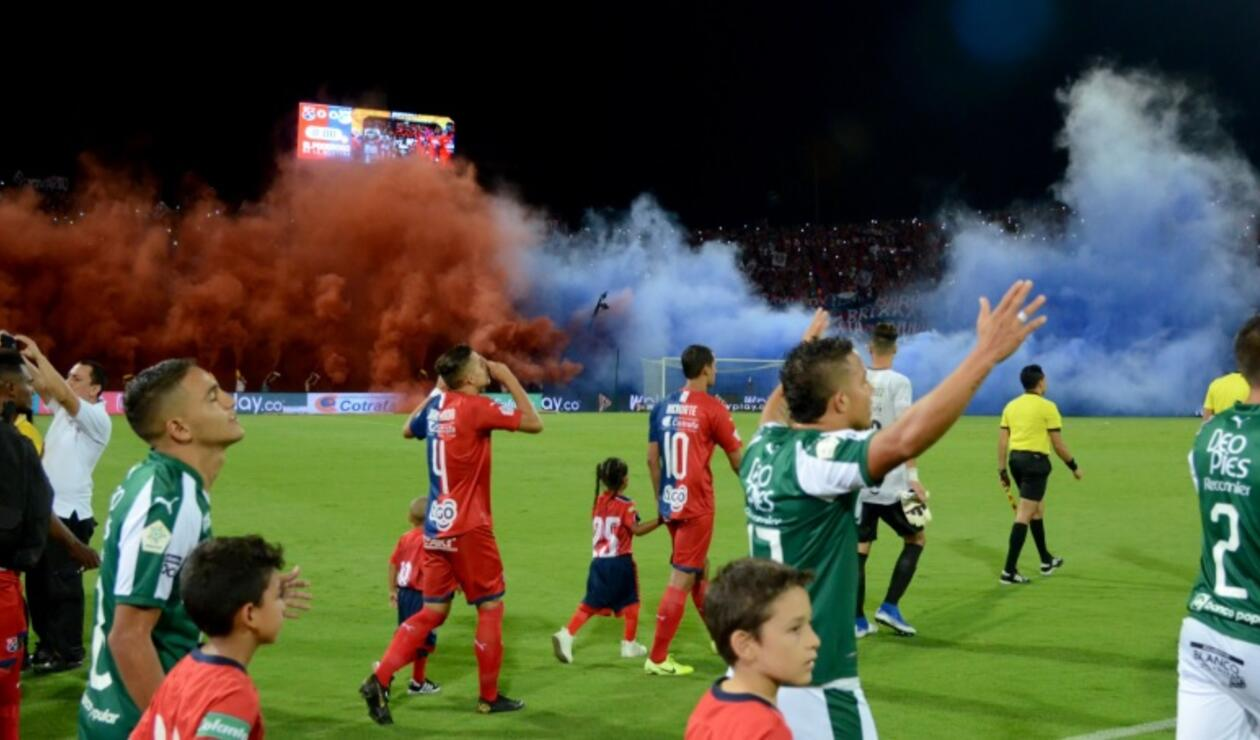 Medellín vs Cali - final Copa Águila