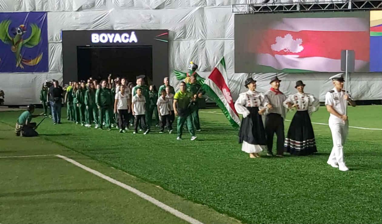 Inauguración Juegos Nacionales