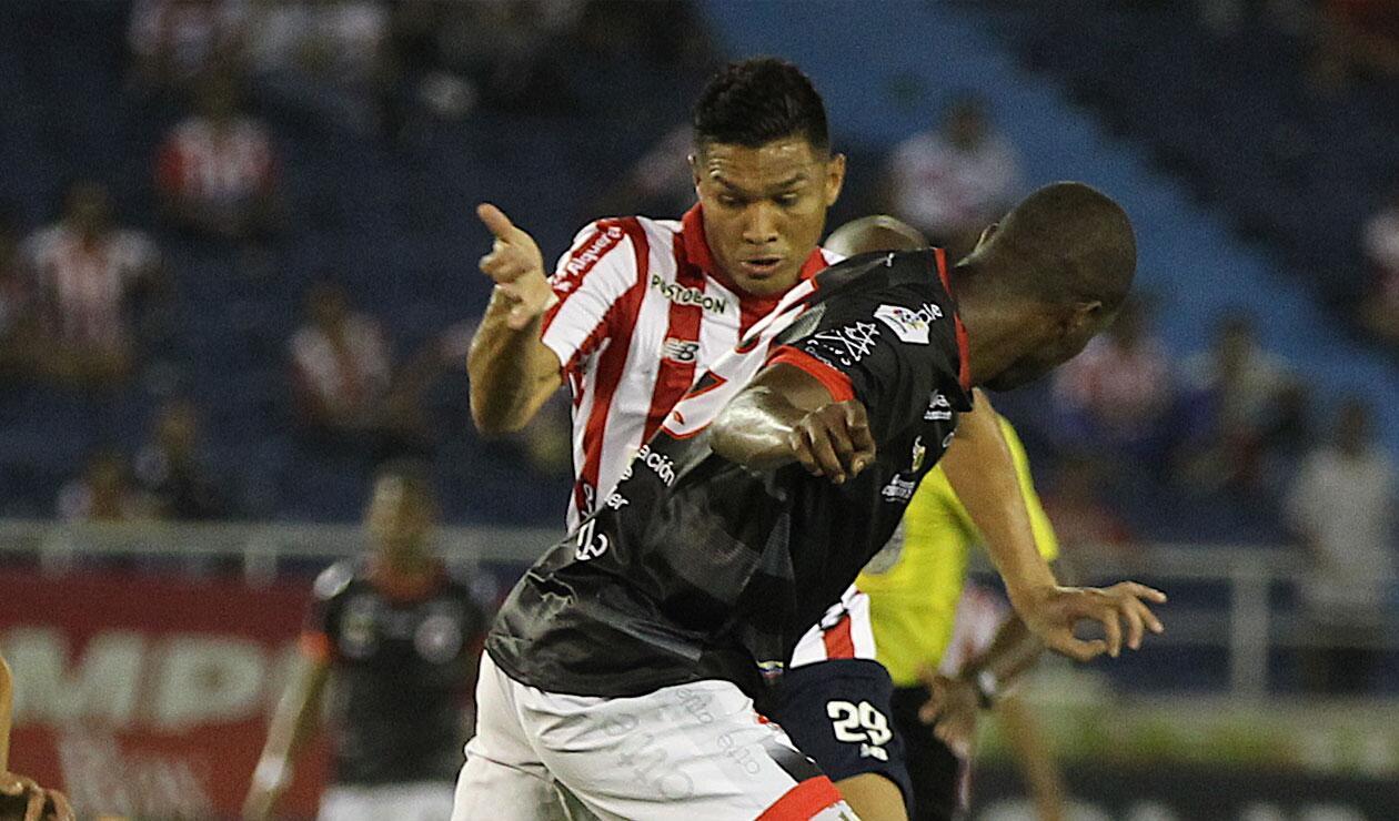Junior vs Cúcuta, Liga Águila
