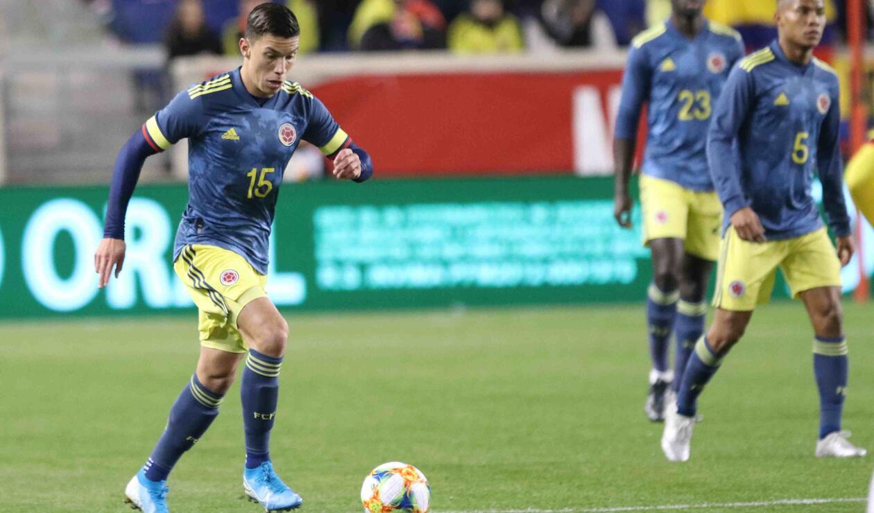 Matheus Uribe - Selección Colombia