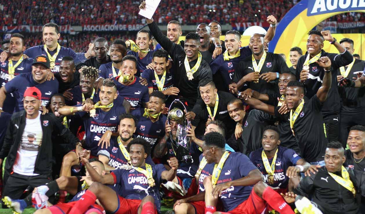 Medellín, campeón Copa Águila
