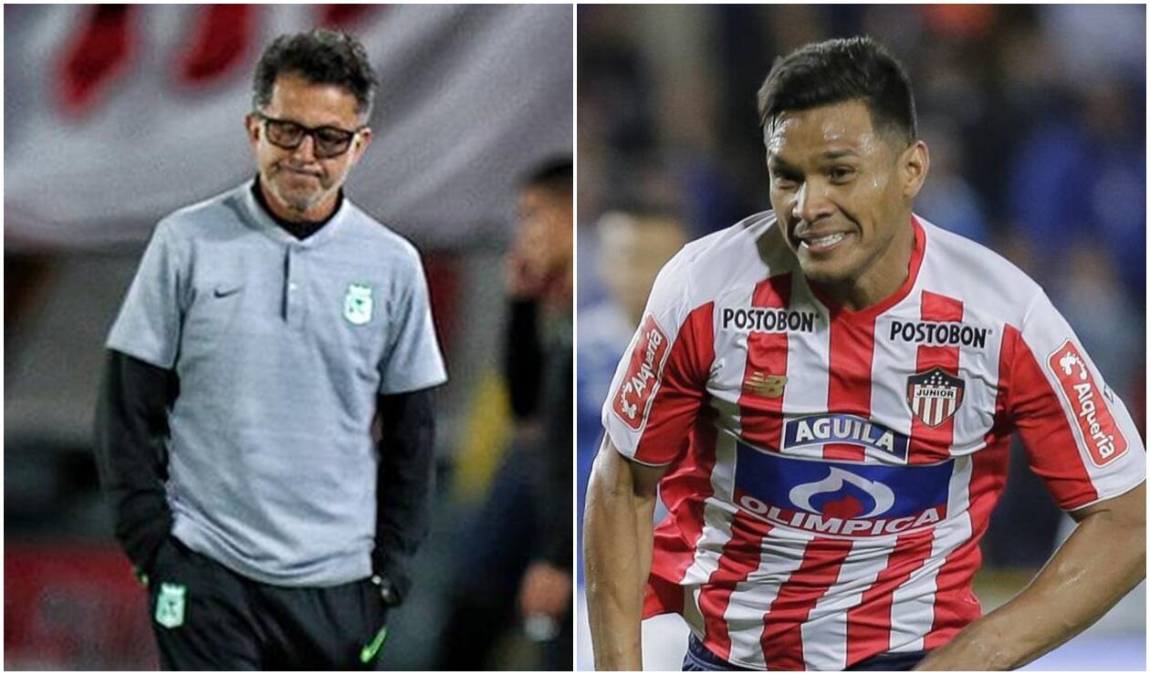 Juan Carlos Osorio y 'Teo' Gutiérrez