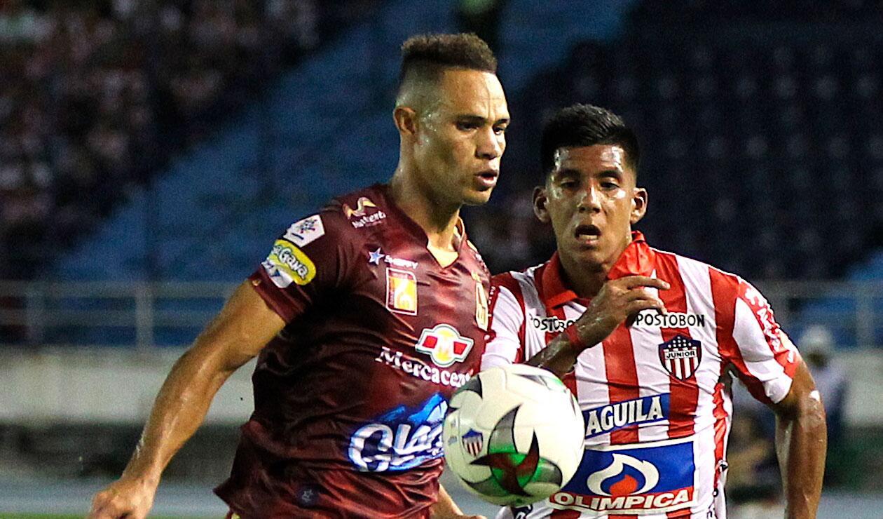 Junior vs Tolima, Liga Águila.