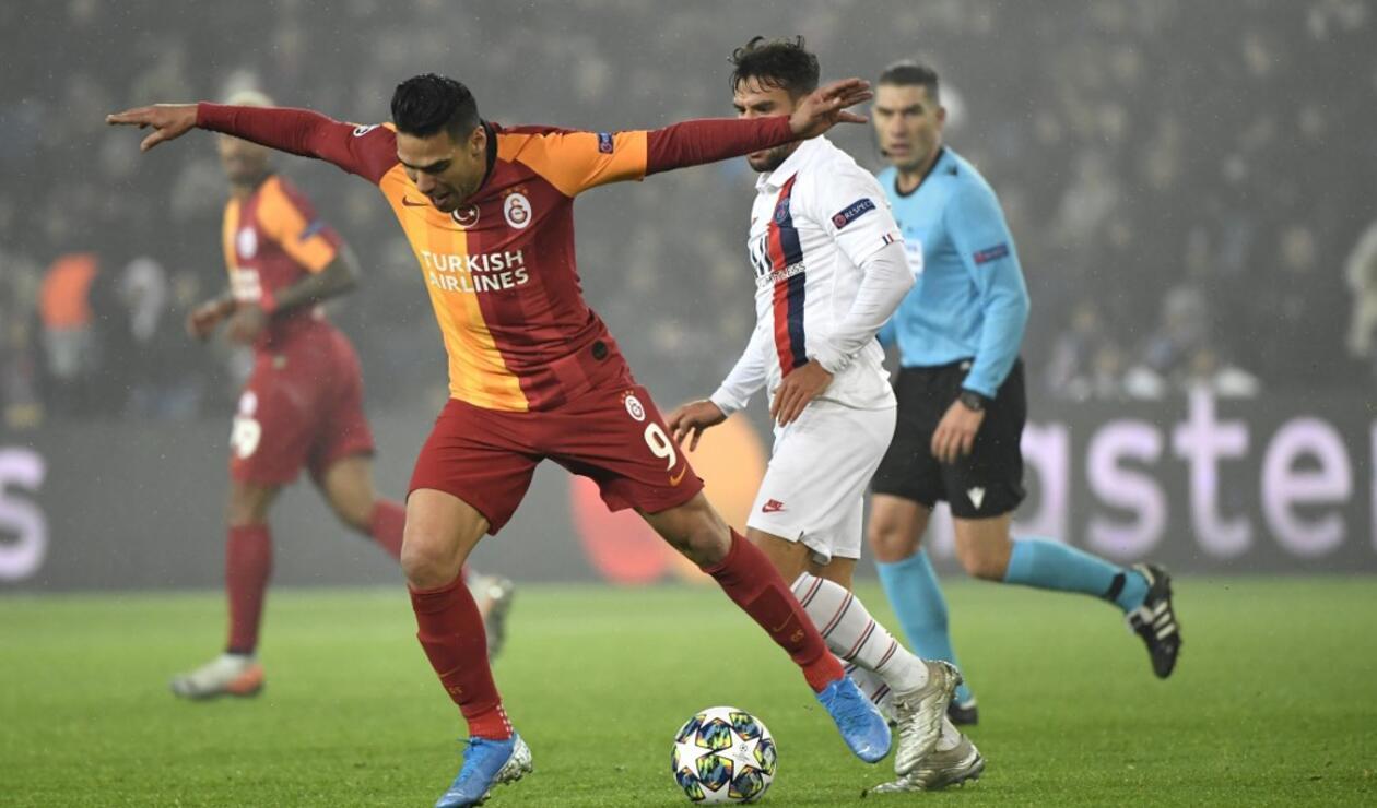 Falcao García en la Champions League