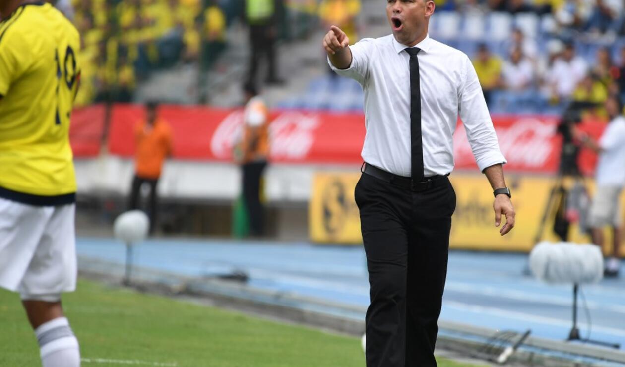 Rafael Dudamel, Selección Colombia
