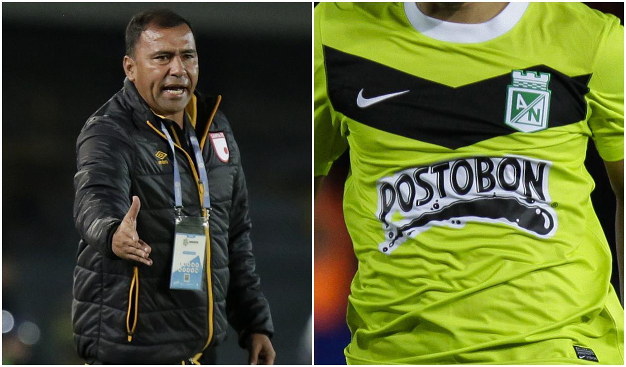 Harold Rivera, técnico de Santa Fe, quiere a un jugador de Nacional