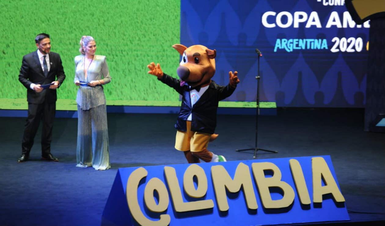 Mascota Copa América