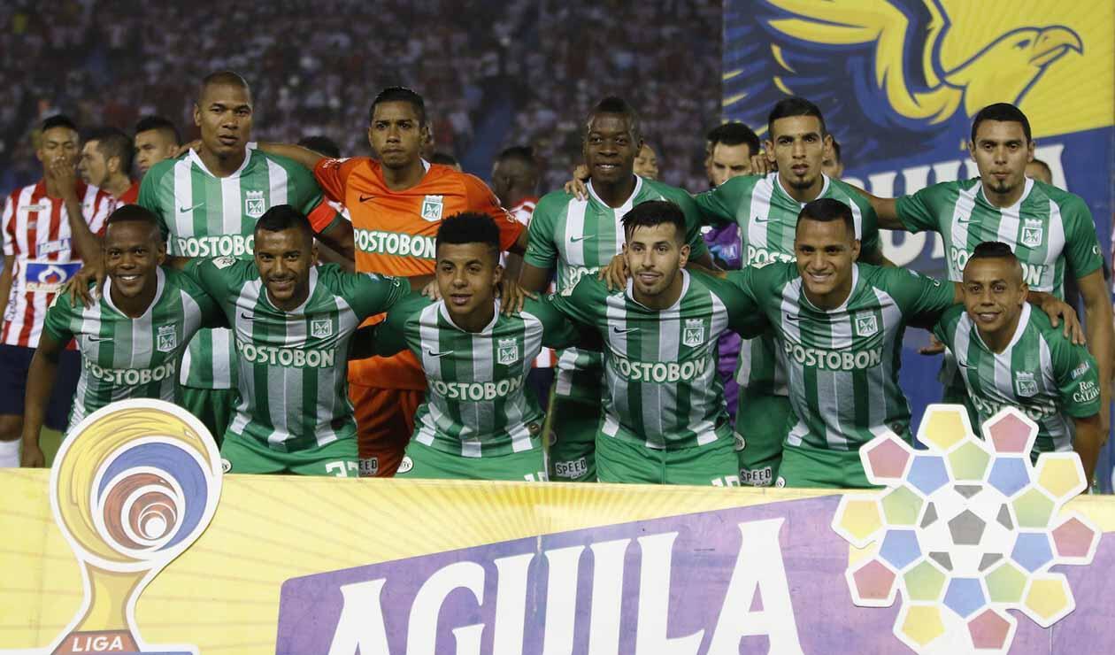 Atlético Nacional, equipo formado