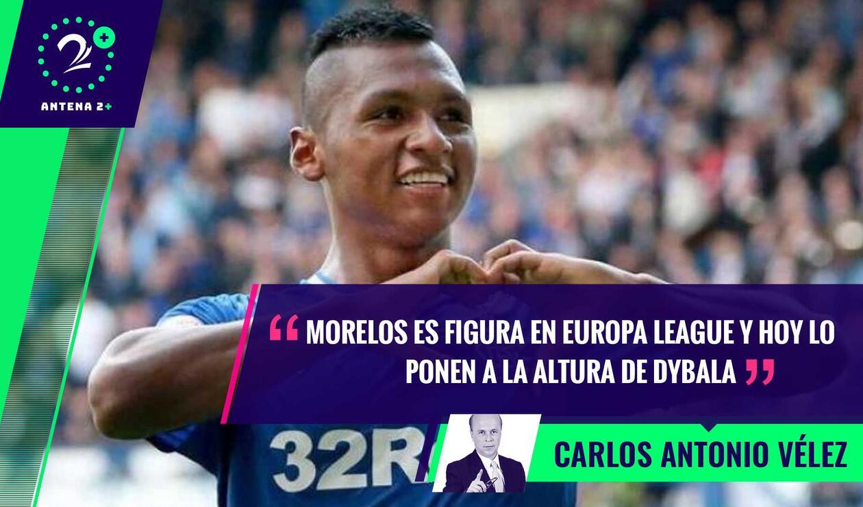 Palabras Mayores - Alfredo Morelos