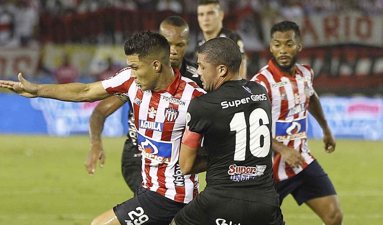 'Teo' Gutiérrez, delantero del Junior, final ante América