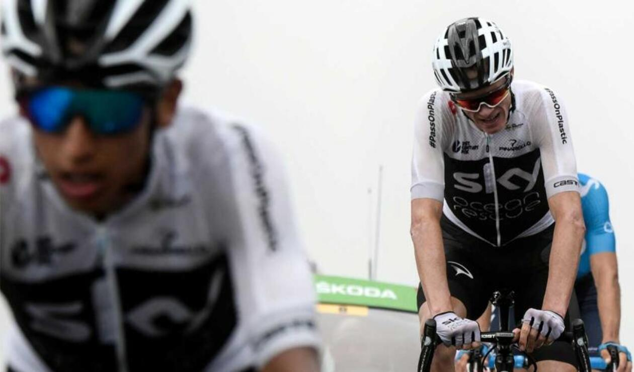 Chris Froome, Egan Bernal