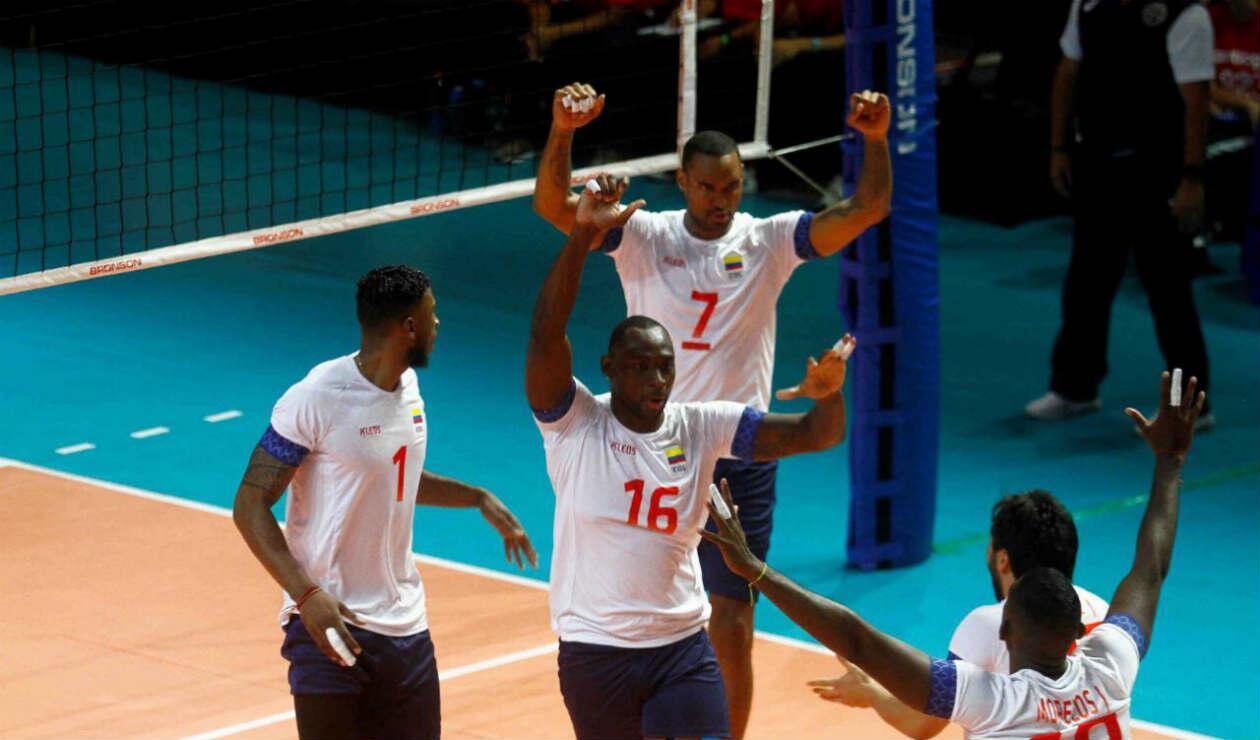 Selección Colombia de voleibol masculina