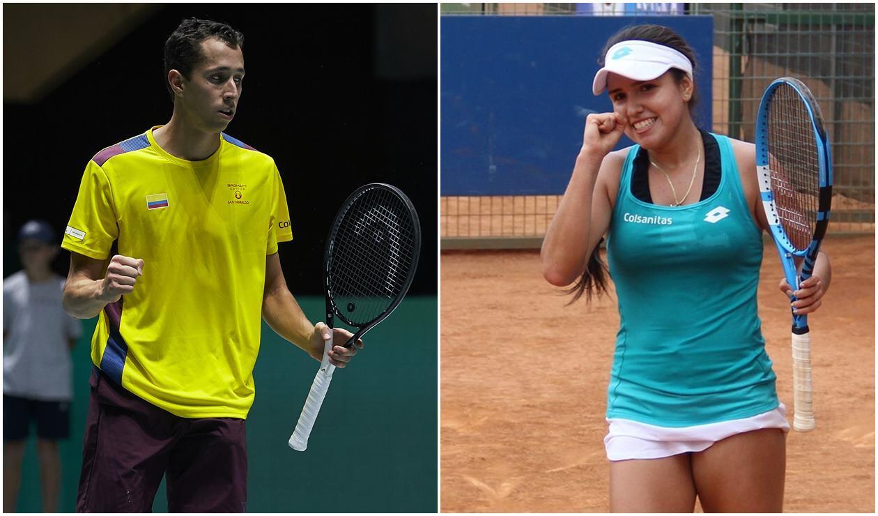 Daniel Galán y Maria Camila Osorio empezaron con un triunfo en el Abierto Australia