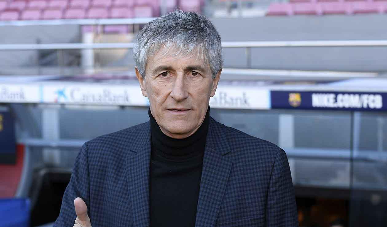 Quique Setién, nuevo técnico del Barcelona