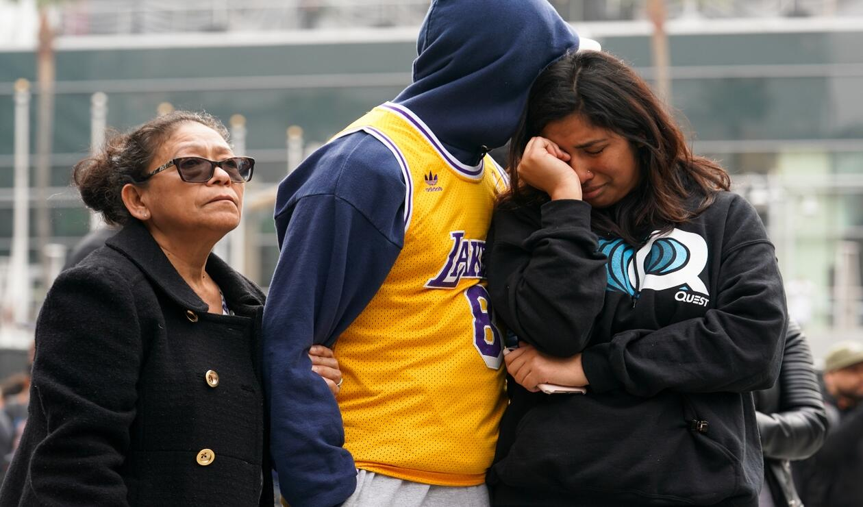 Tristeza en la entrega de los grammys por muerte de Kobe Bryant