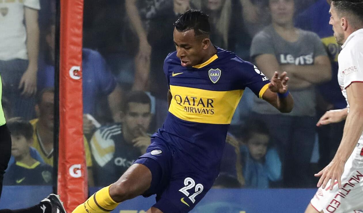 Sebastián Villa, jugador de Boca Juniors
