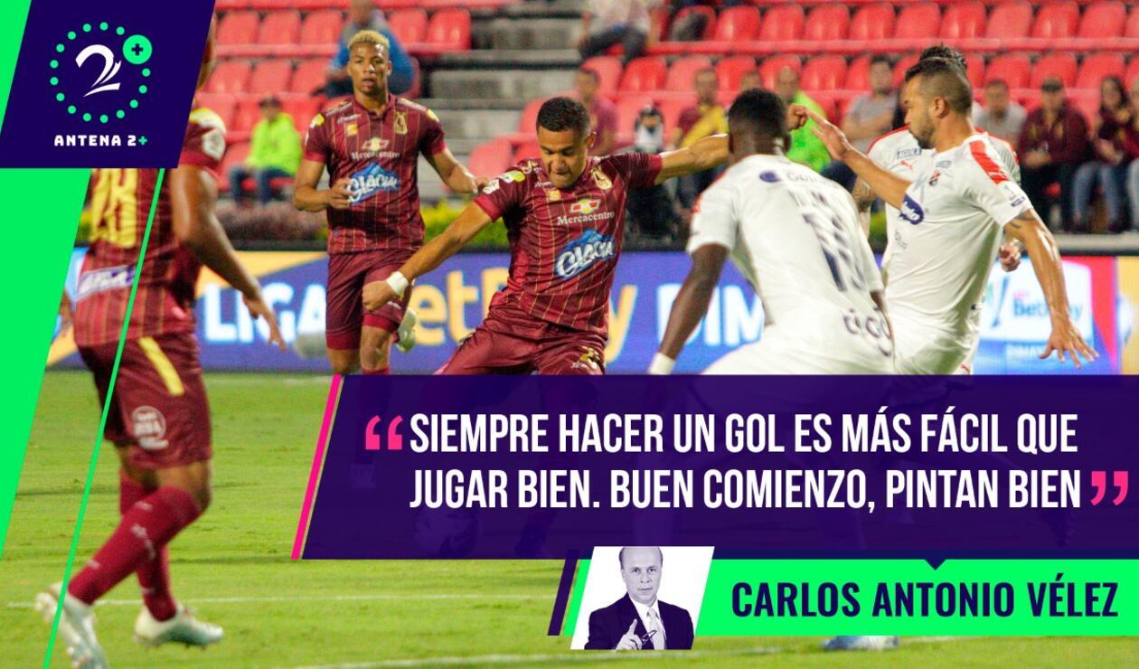 Palabras Mayores - Deportes Tolima vs Medellín