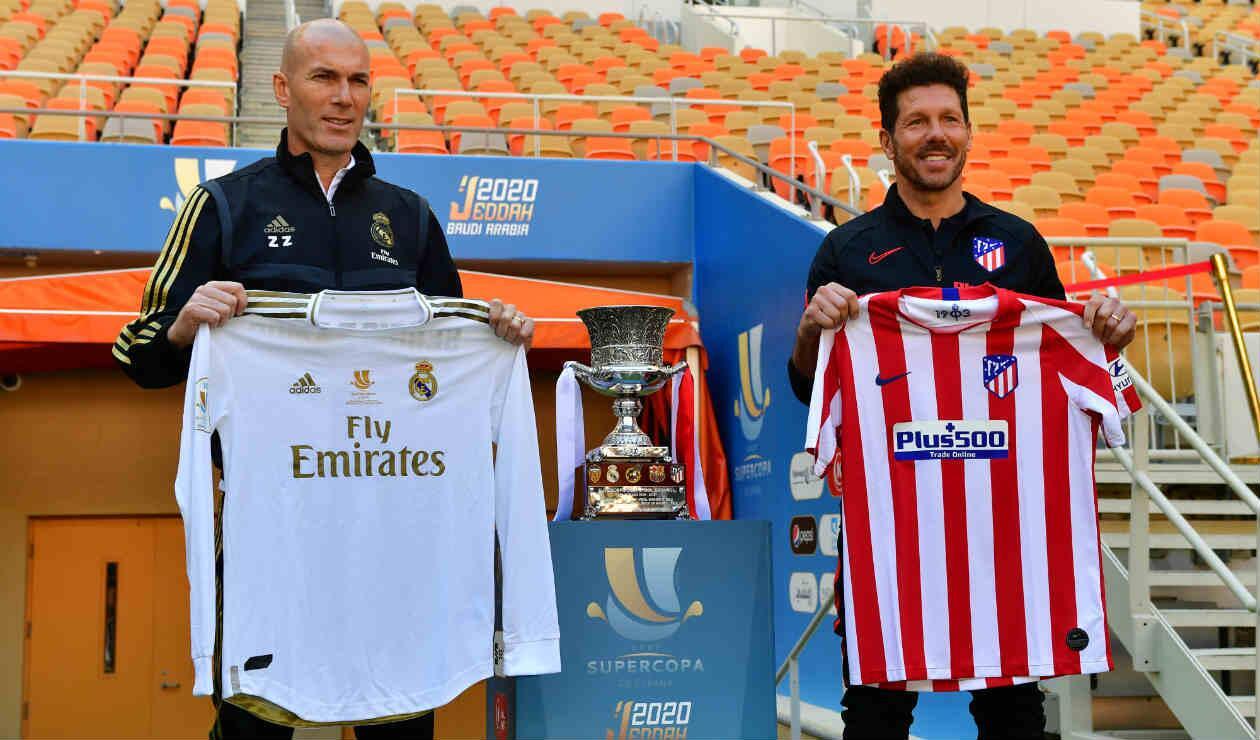 Real Madrid Vs Atletico De Madrid En Vivo Final Supercopa Antena 2