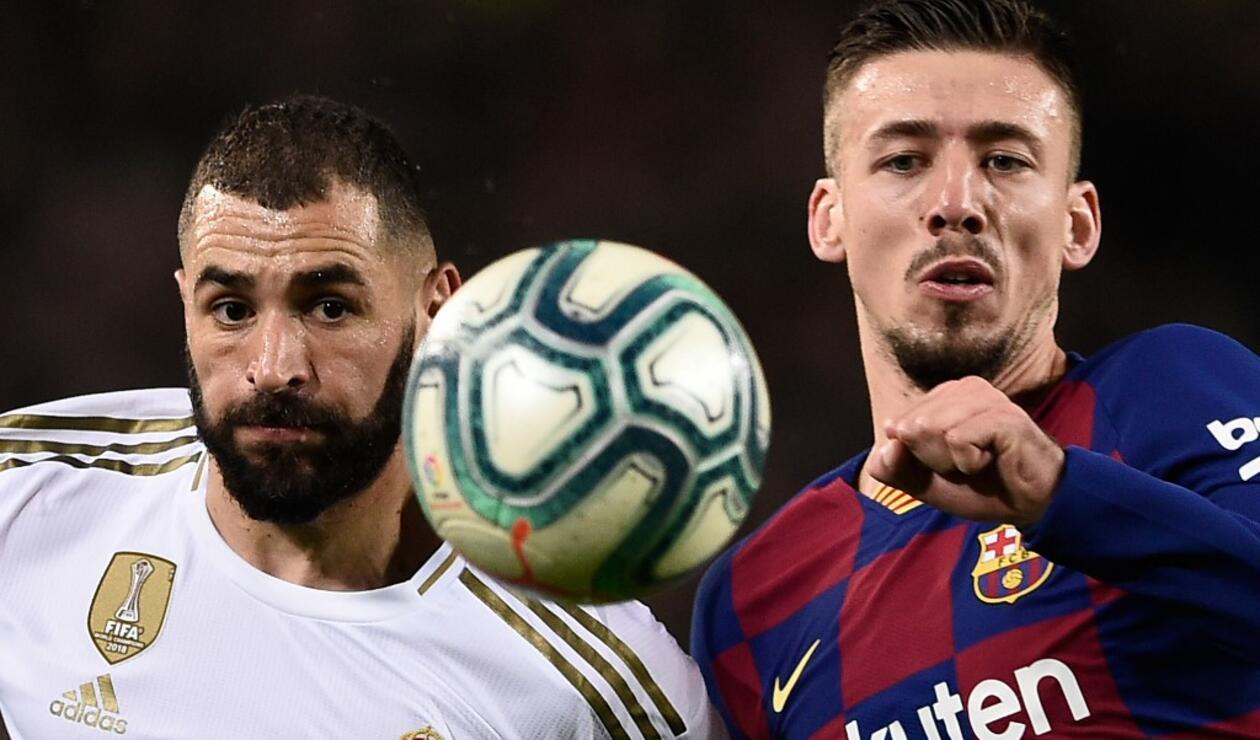 Real Madrid vs Barcelona, liga española