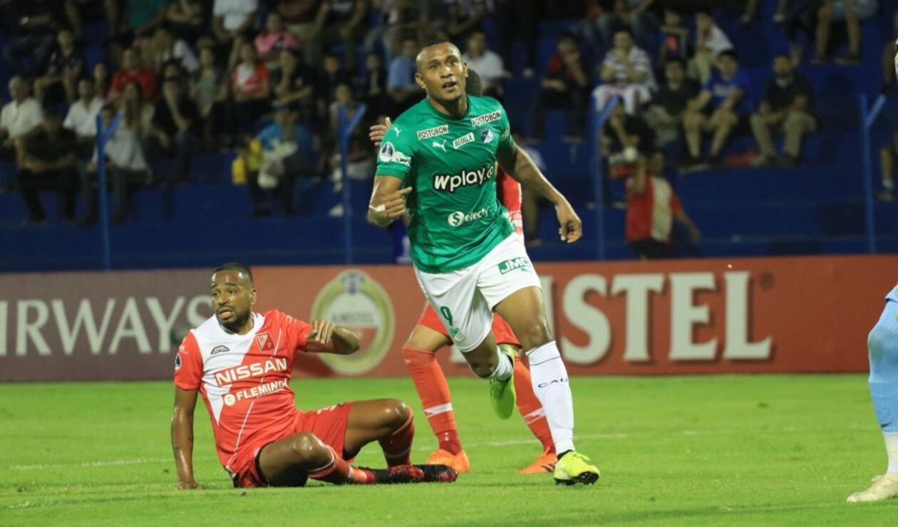 Ángelo Rodríguez, delantero del Deportivo Cali