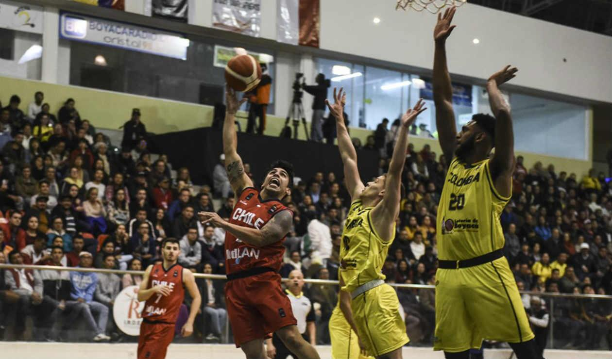 Colombia Vs. Chile - FIBA