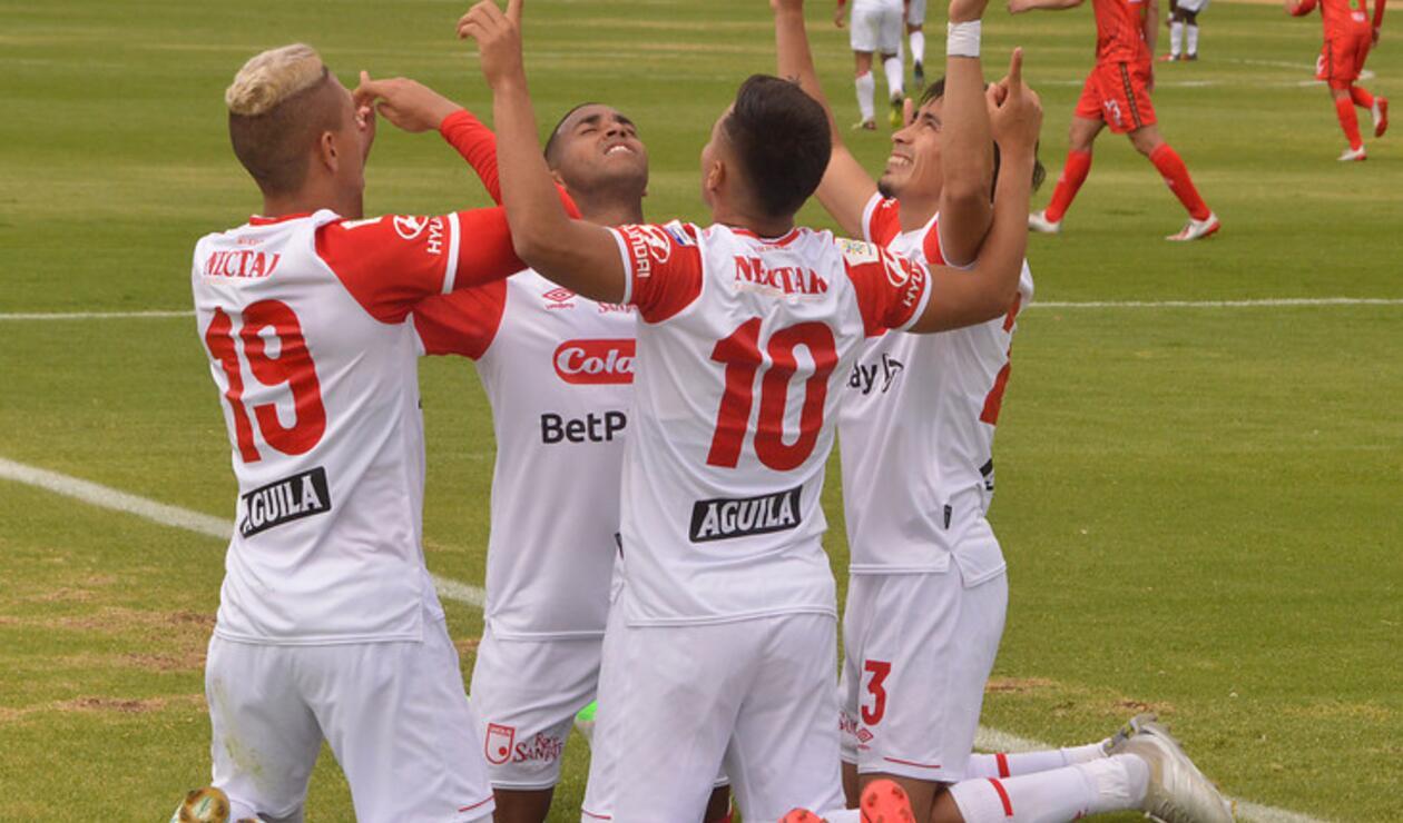 Santa Fe Vencio A Patriotas En La Fecha 5 De La Liga Betplay Antena 2