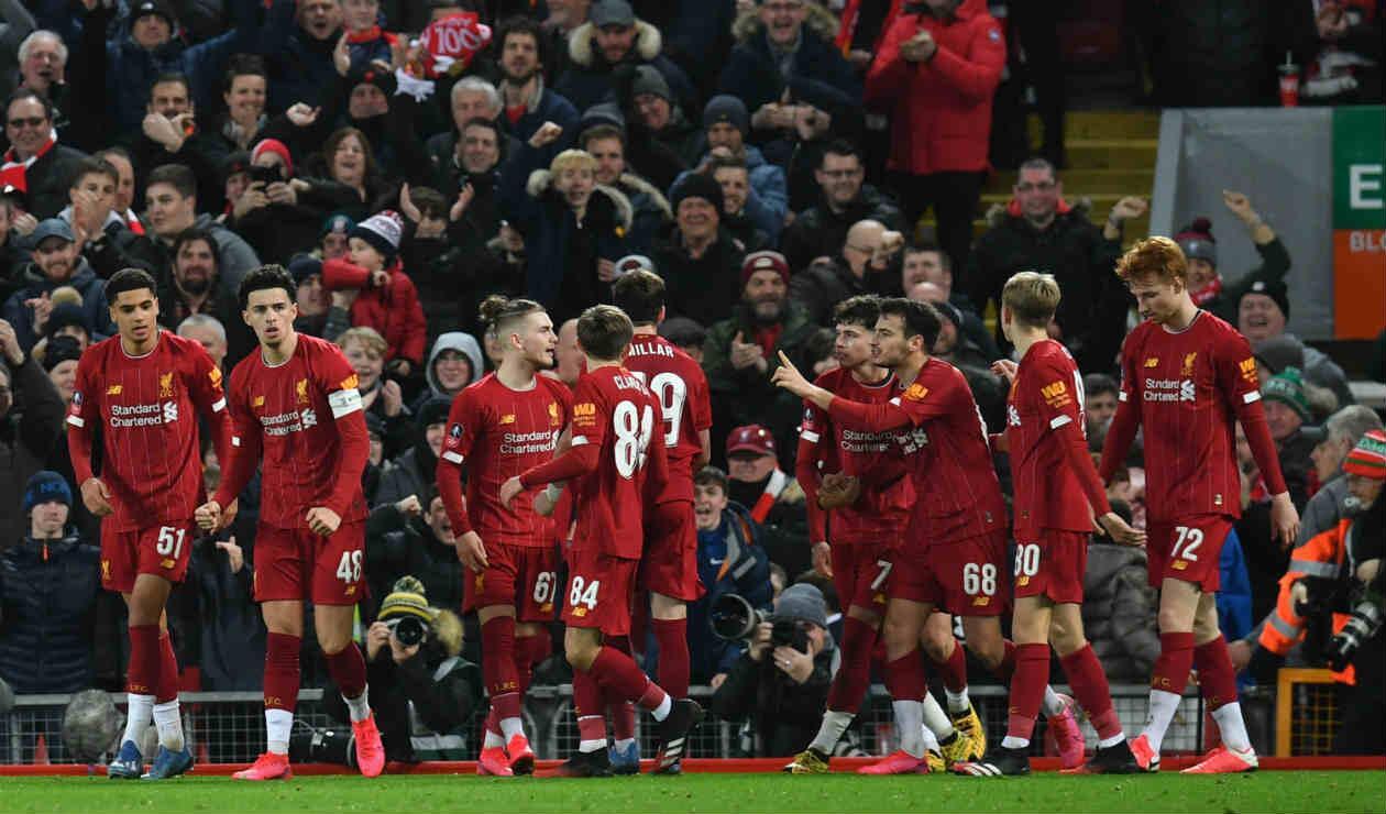 Liverpool - juveniles