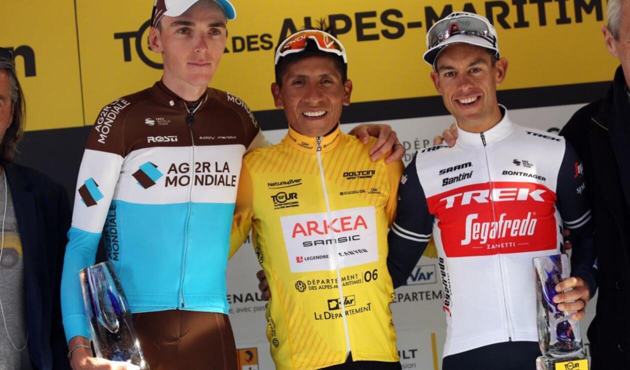 Nairo Quintana, campeón del Tour de Los Alpes Marítimos