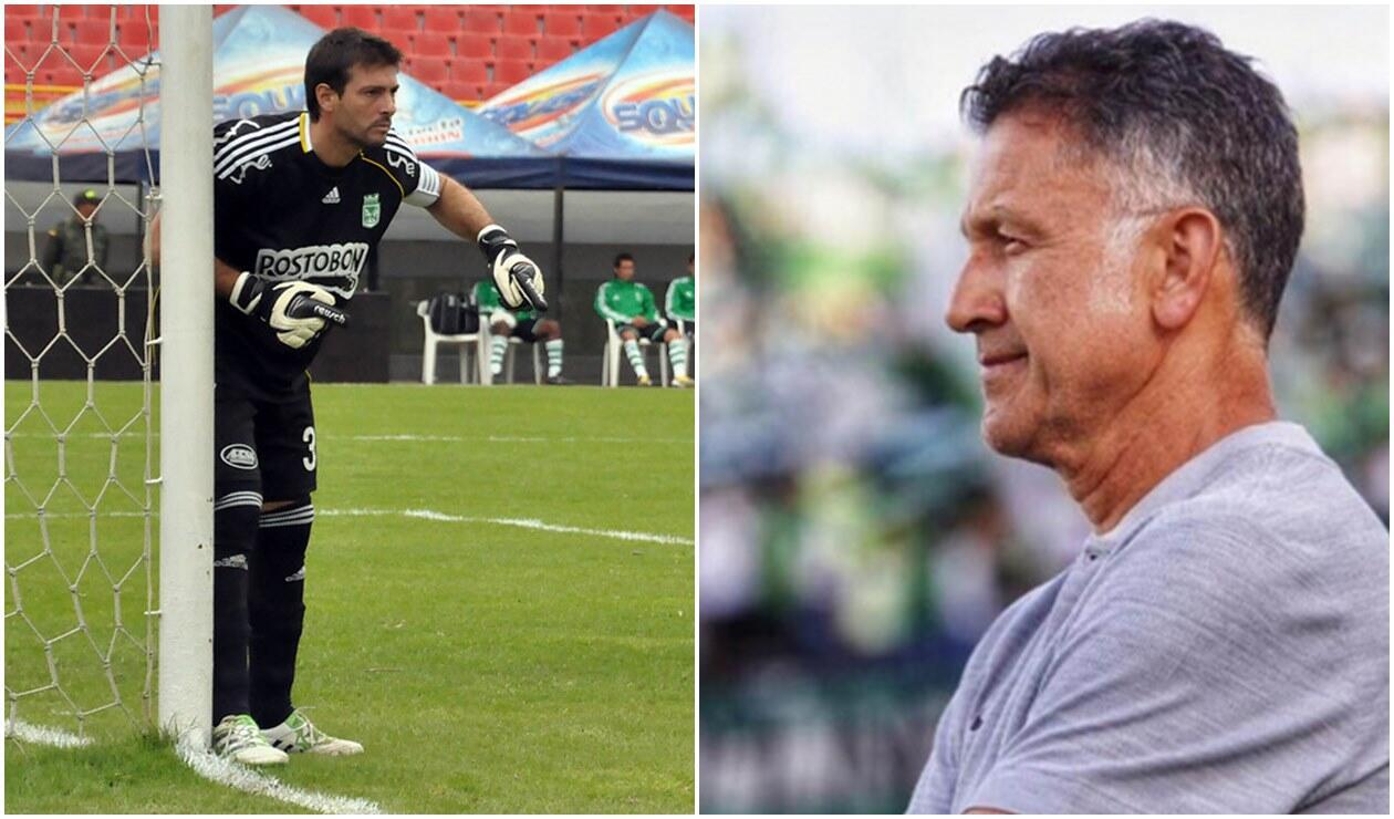 Gastón Pezzuti y Juan Carlos Osorio