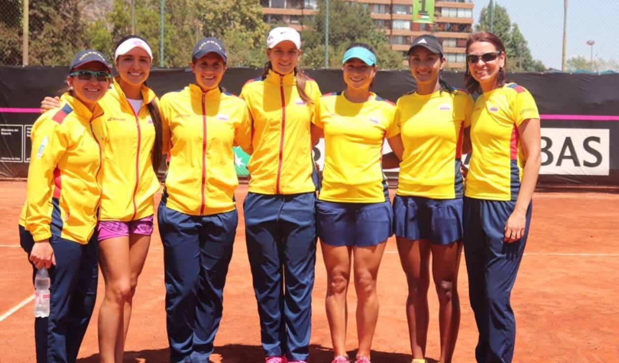 Equipo Tenis Femenino -Fed Cup