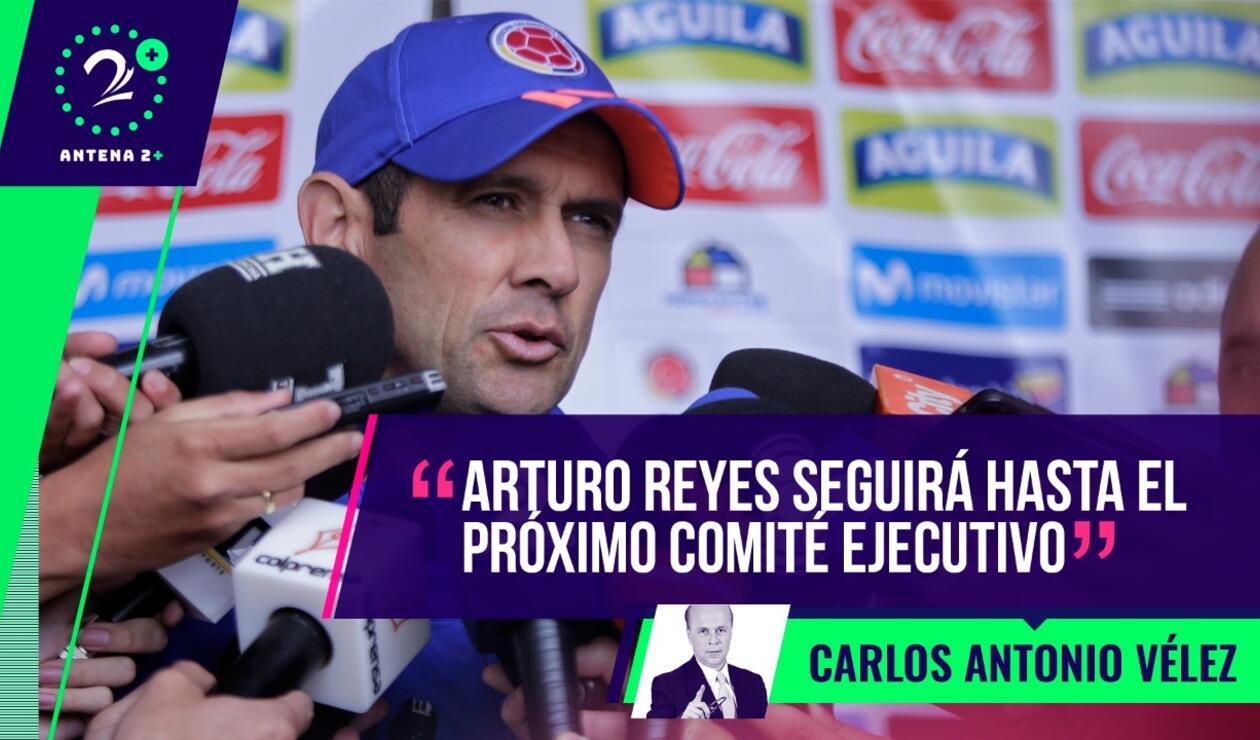 Palabras Mayores - Arturo Reyes, técnico de la Selección Sub 20 y Sub 23