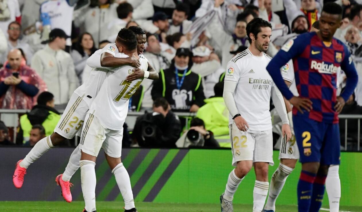 Real Madrid vs Barcelona 2020