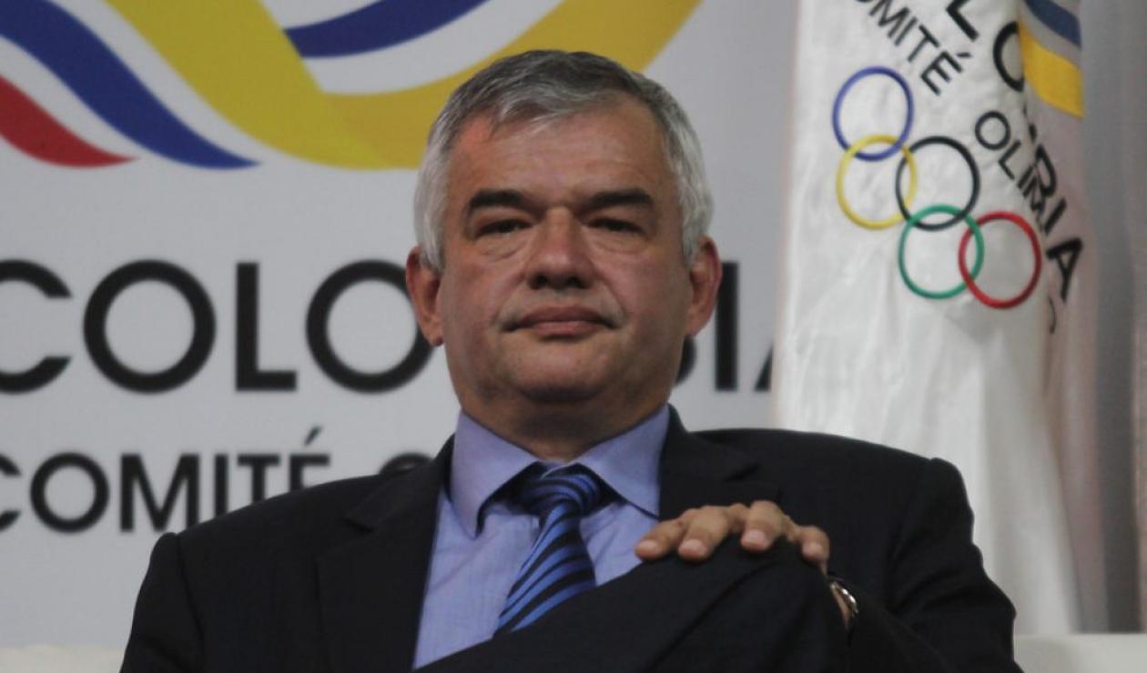 Ciro Solano, vicepresidente de la Odecabe (Organización Deportiva Centroamericana y del Caribe)