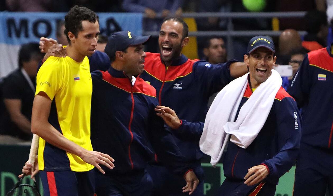 Copa Davis, Colombia vs Argentina