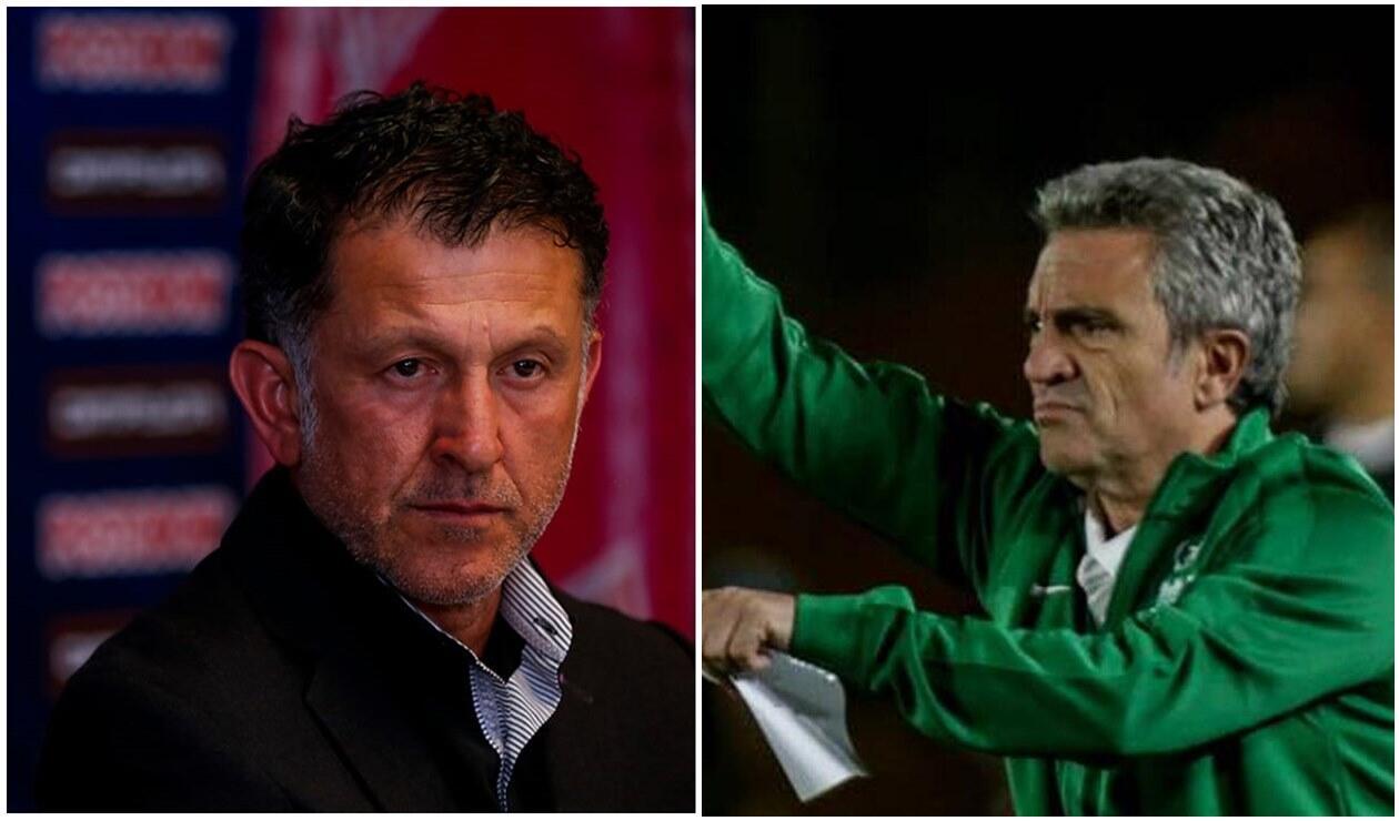 Juan Carlos Osorio y Juan Manuel Lillo